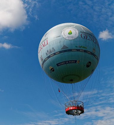 S'envoyer en l'air à Paris, le ballon Generali