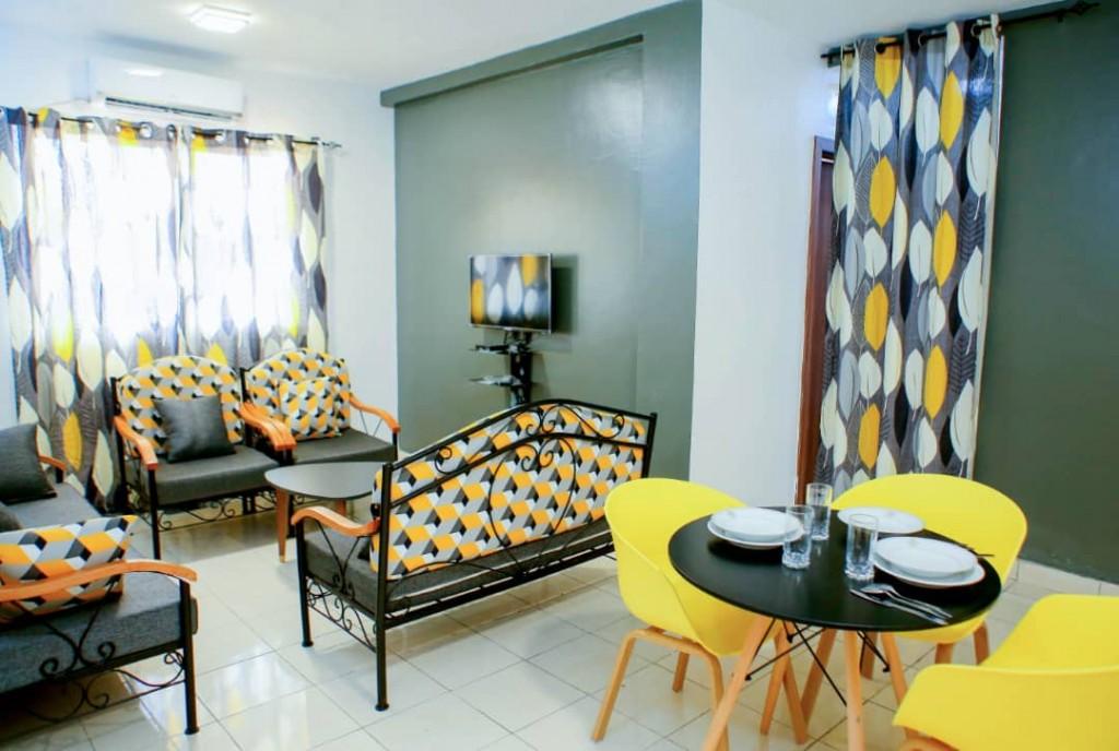 Location de vacances à Abidjan , un cosy appartement pour vous