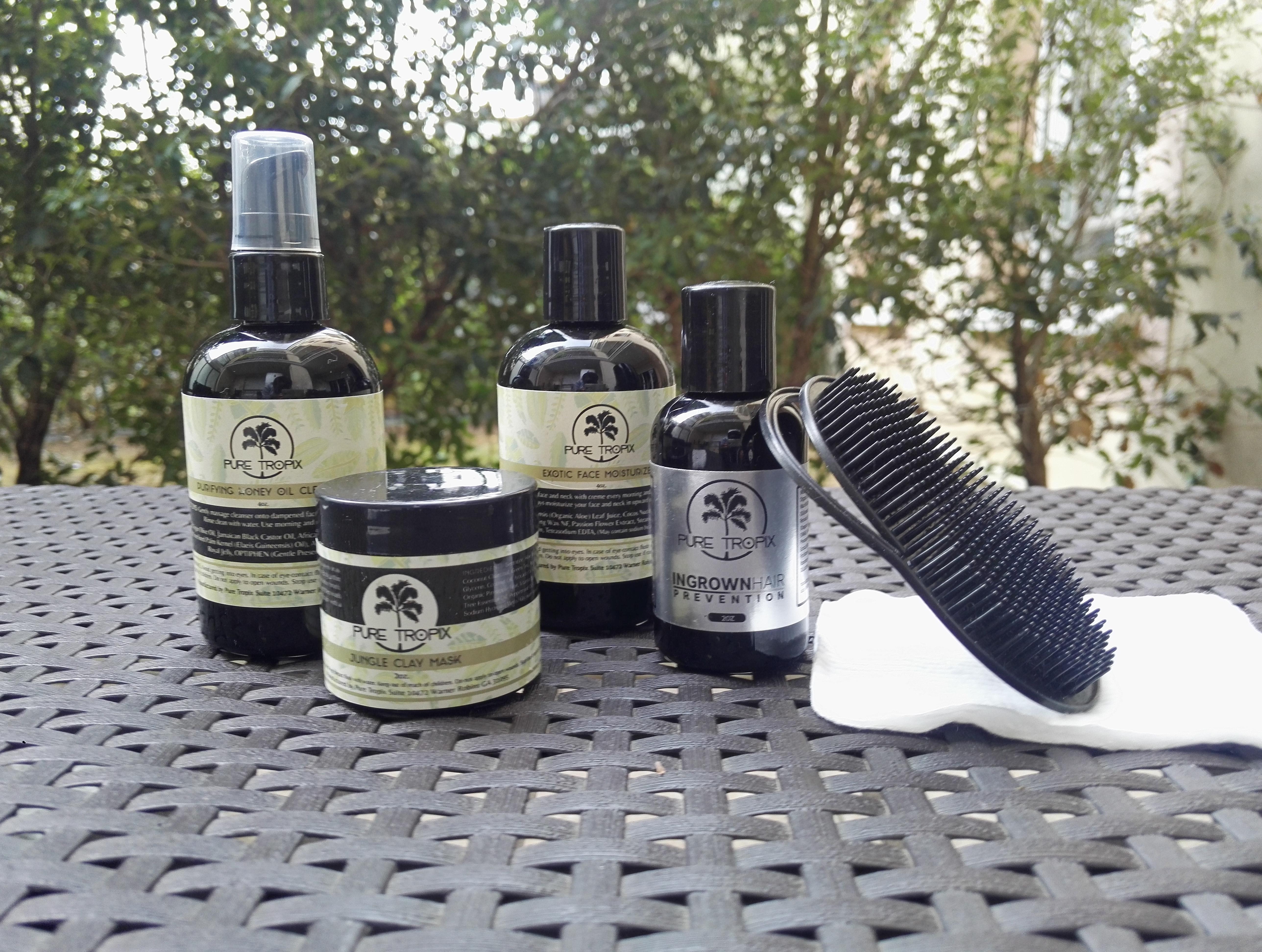 Utilisation des cosmétiques Pure Tropix avis