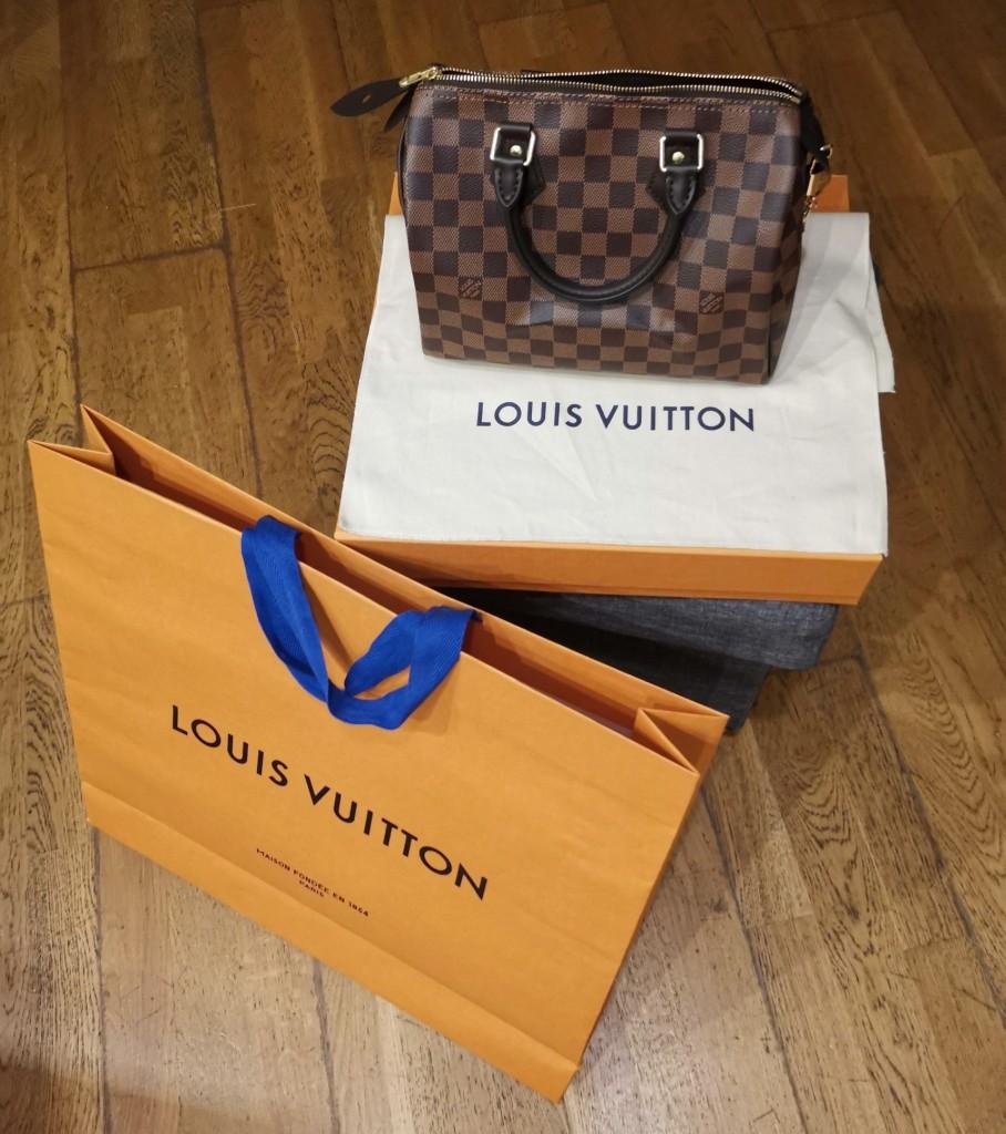 Speedy 25 Damier Ebène, Unboxing mon premier sac Louis Vuitton