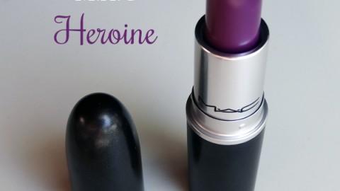 Heroine de MAC, un violet portable au quotidien